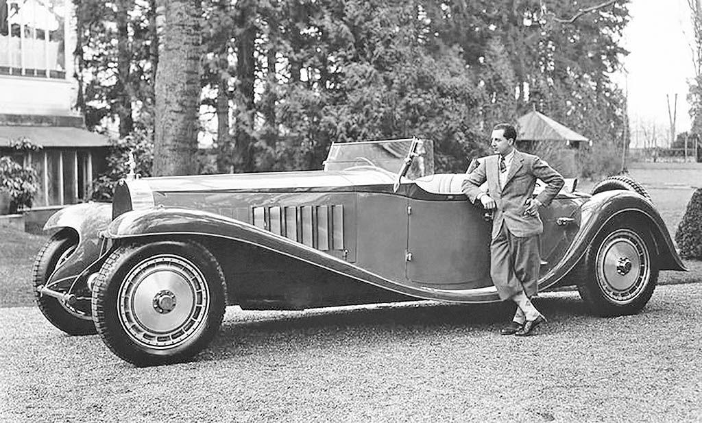 زادروز بنیانگذار و مالک خودروسازی بوگاتی