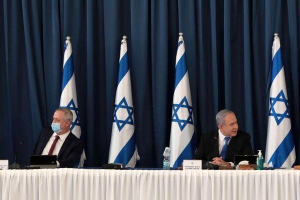 درگیری میان نتانیاهو و گانتس در جلسه کابینه