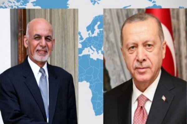 رایزنی رؤسای جمهور ترکیه و افغانستان
