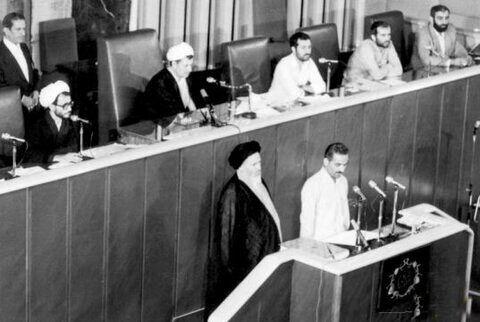 تحلیف احمدی نژاد در روز غیبت بزرگان /غیبت مقامات خارجی درمراسم تحلیف دهه ۶۰