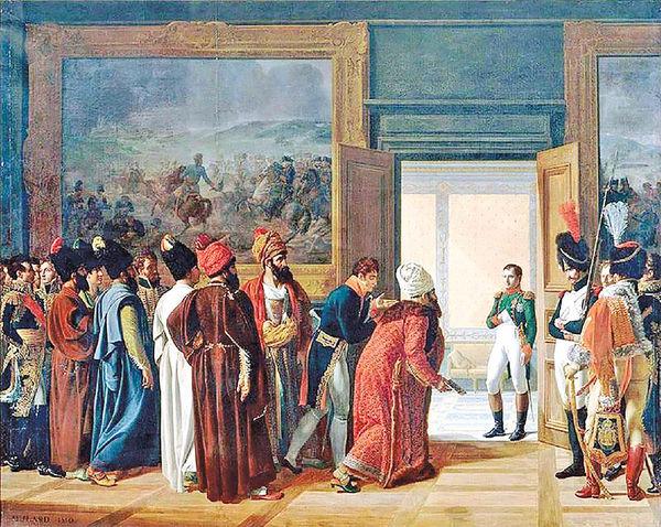 آغاز روابط ایران و فرانسه