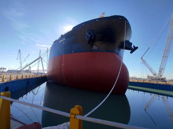 ساخت کشتی غول پیکر نفت کش با نظارت یک موسسه رده بندی ایرانی
