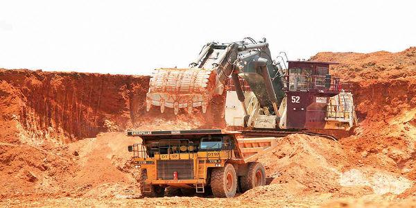 تولید 4/ 2 میلیونتنی سنگآهن در ماهان سیرجان