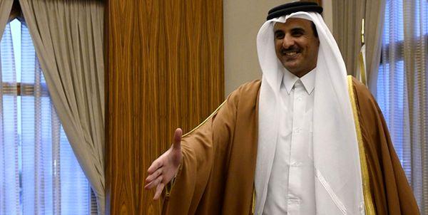 نامه امیر کویت برای همتای قطریاش