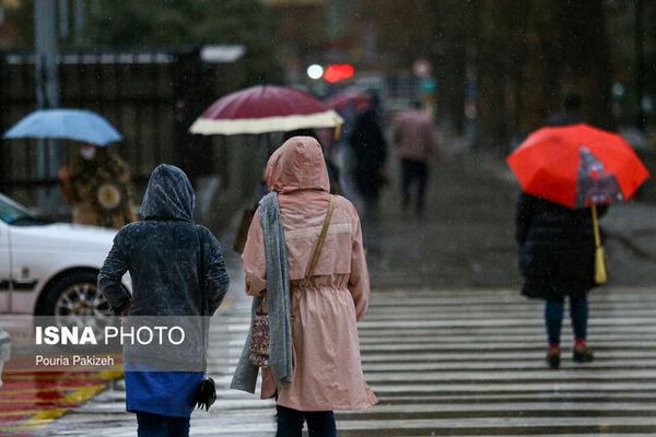 هشدار هواشناسی نسبت به تشدید بارشها در کشور