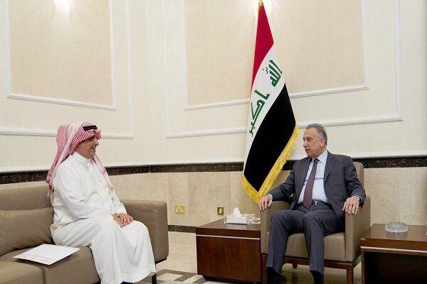 دیدار نخست وزیر عراق با سفیر سعودی