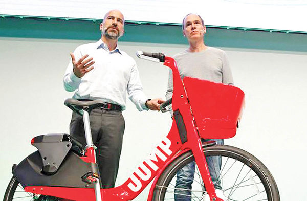 فصل جدید فعالیت اوبر در اجاره دوچرخه