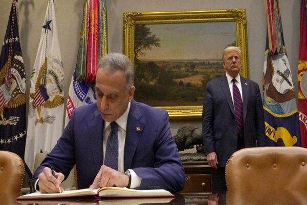 دغدغه عراقی ها برای عقد یک قرارداد با آمریکا