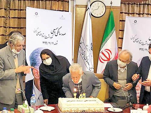 تولد 100 سالگی  پدر علم ویراستاری ایران