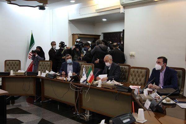 آغاز مذاکرات آژانس و سازمان انرژی اتمی ایران/عکس