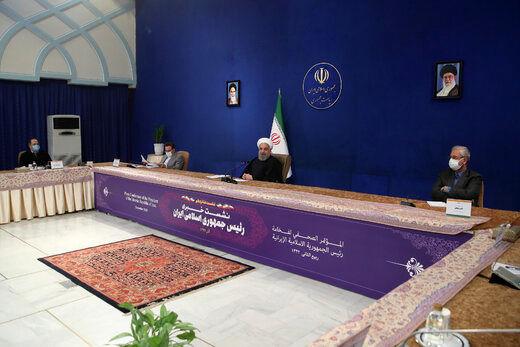 روحانی: مجلس به لوایح ما اهمیت نمیدهد/ نمیگذاریم پایان تحریمها به تأخیر بیفتد