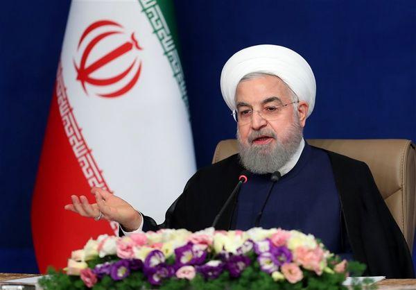 روحانی: به اندازه کل تاریخ کشور در این دولت، ساخت و تجهیز بیمارستان انجام شد