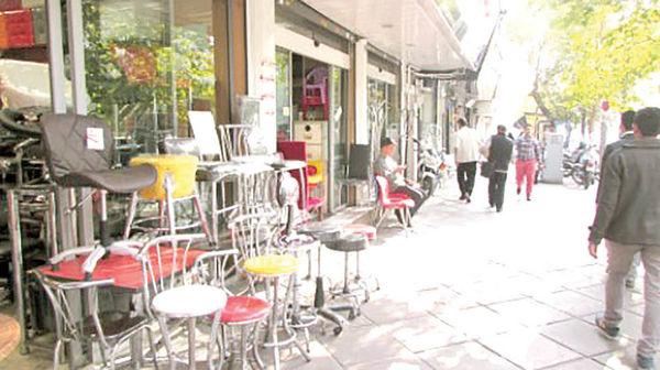 بازار کساد میز و صندلی