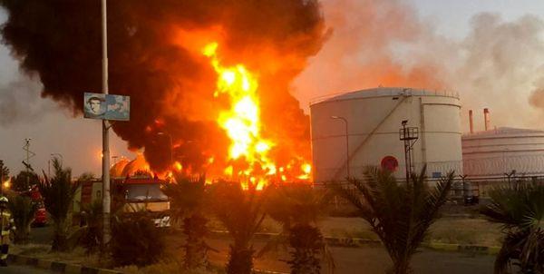 آخرین خبر از وضعیت مهار آتش در پالایشگاه تهران