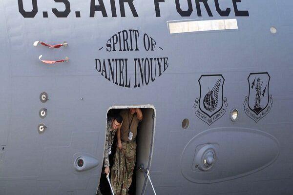 فرود اضطراری هواپیمای نظامی آمریکا در اوکراین