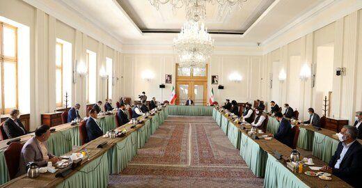 انتشار اعلامیه دو هیات بین الافغانی در تهران