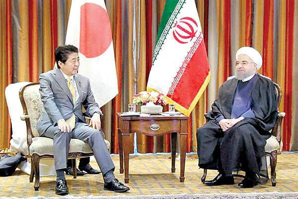 چراغ سبز آمریکا به ژاپن برای میزبانی روحانی