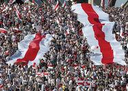 بزرگترین گردهمایی اعتراضی علیه لوکاشنکو