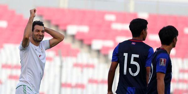 اتفاقی کمسابقه در بازی ایران و امارات/ بازیکن اخراجی ایران به میدان بازگشت