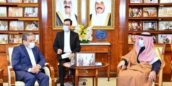 عراقچی با وزیر خارجه کویت دیدار کرد