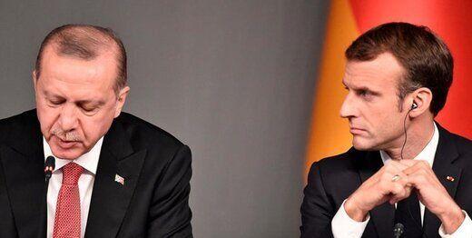 اردوغان: ماکرون به لبنان رفت اما از آنجا اخراج شد