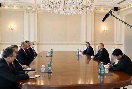 جزئیات گفتوگوی علیاف و وزیر خارجه ترکیه درباره قرهباغ