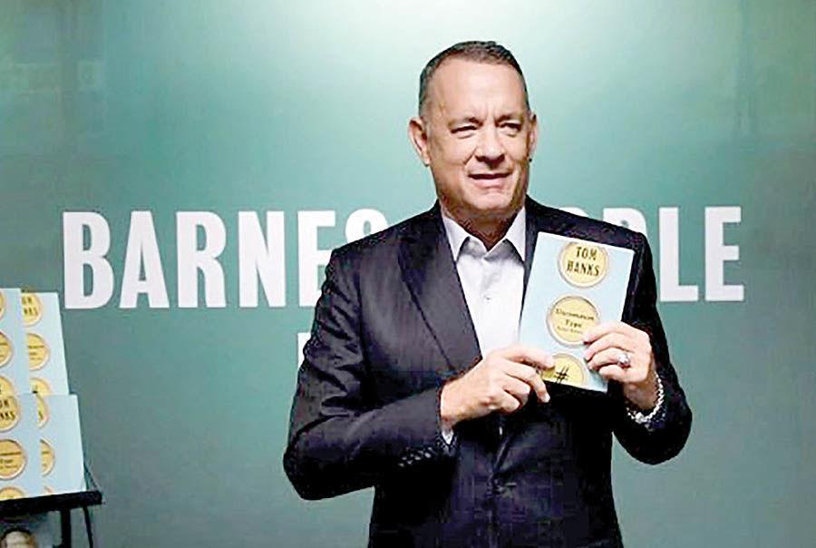 کتاب تام هنکس رتبه چهارم آمازون شد