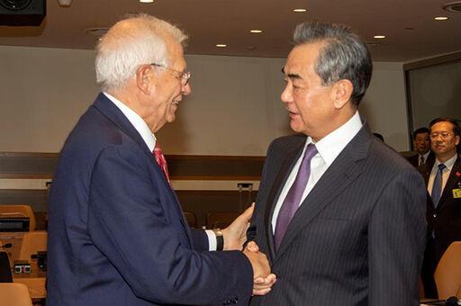 گفتگوی تلفنی بورل و وزیرخارجه چین درباره برجام