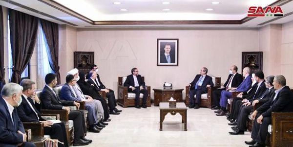 وزیر خارجه سوریه از ایران قدردانی کرد