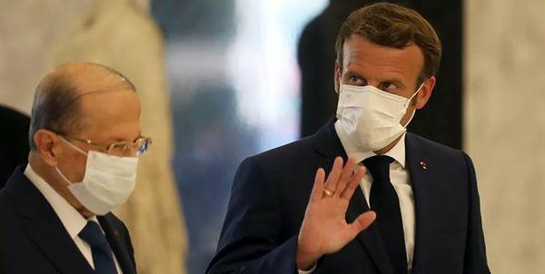 اعمال فشار فرانسه به لبنان برای تشکیل دولت