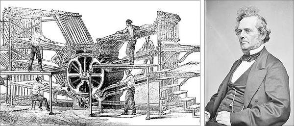 ریچارد مارچ هو؛ مخترع ماشینچاپ دورو