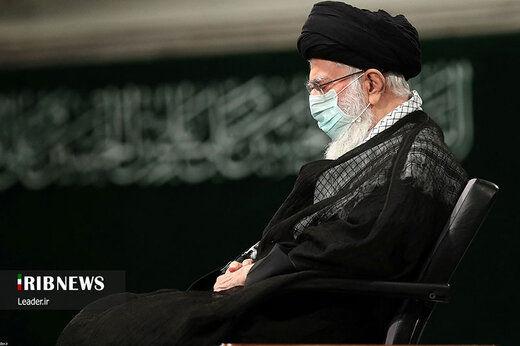 مراسم عزاداری اربعین حسینی با حضور رهبر انقلاب