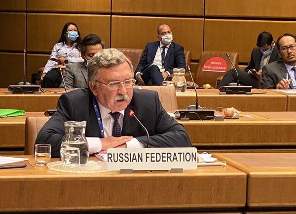 خبر اولیانوف از ادامه گفتوگو درخصوص ایران در جلسه شورای حکام