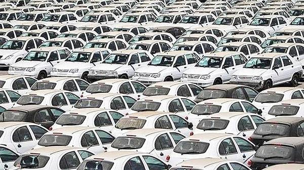 برچسب احتکار بر خودروهای ناقص