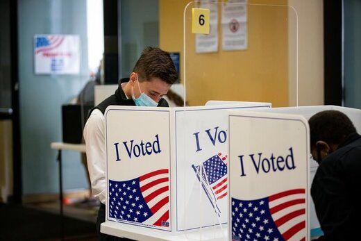 حضور بیسابقه آمریکاییها برای رای دادن در انتخابات ریاست جمهوری