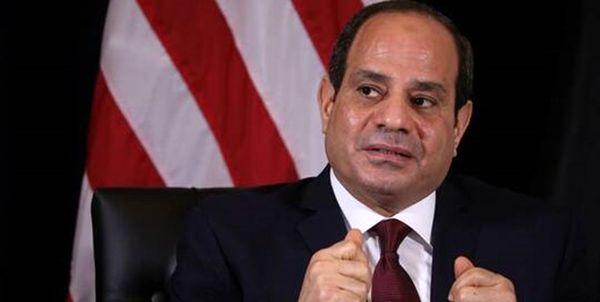 نامه رئیسجمهور مصر به کویت