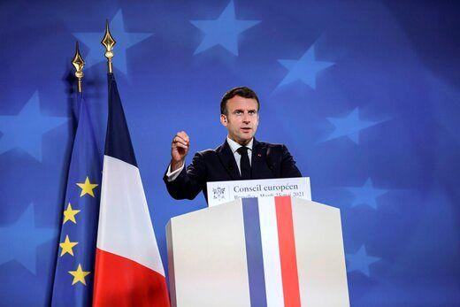 مکرون پایان عملیات فرانسه را اعلام کرد