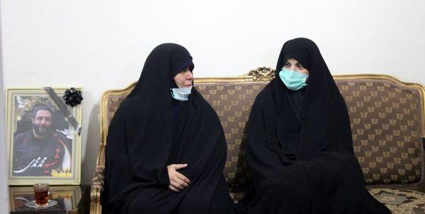 حضور نمایندگان مجلس در منزل شهید امر به معروف محمدی + عکس