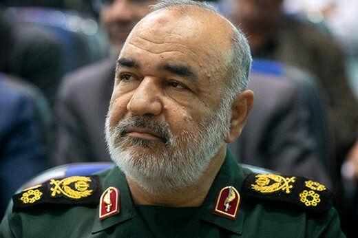 سردار سلامی هیچ صفحهای در فضای مجازی ندارد