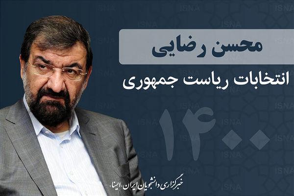 رضایی: دولتم را با کمک همه اقوام ایرانی می سازم/ قطار انقلاب را بزرگ خواهیم کرد