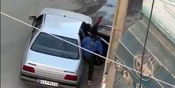 عامل سرقت مسلحانه سیم برق در کرمانشاه دستگیر شد