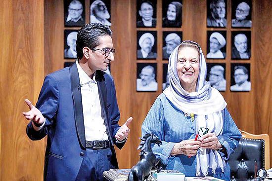 حضور منصوره اتحادیه در برنامه «شوکران»