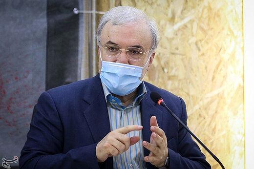 وزیر بهداشت: روزگار غریبی است، نگذاشتیم هیچ بیماری پشت در بیمارستانها سرگردان شود