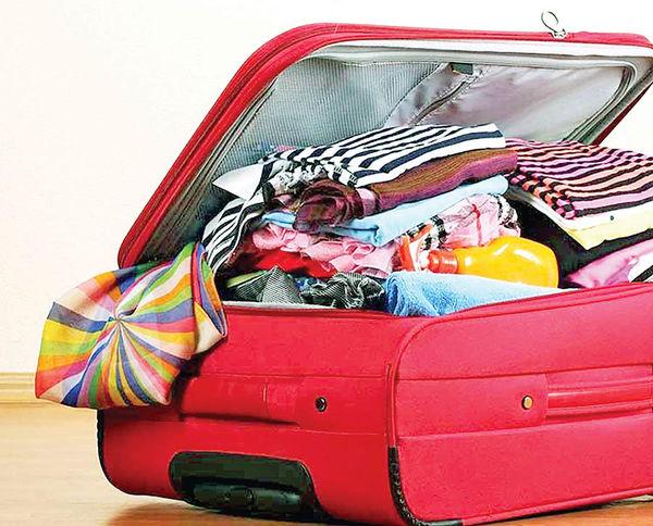 چگونه چمدان ببندیم؟