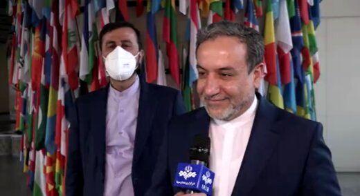 خبر عراقچی از احتمال توقف مذاکرات وین
