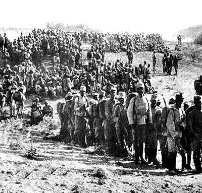 جنگ جهانی اول در کرمانشاه و همدان