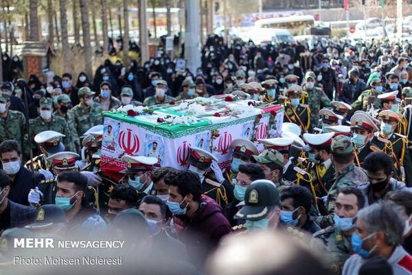 مراسم تشییع ۸ شهید گمنام لغو شد