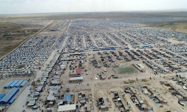 یورش شبه نظامیان کرد به اردوگاه الهول در سوریه