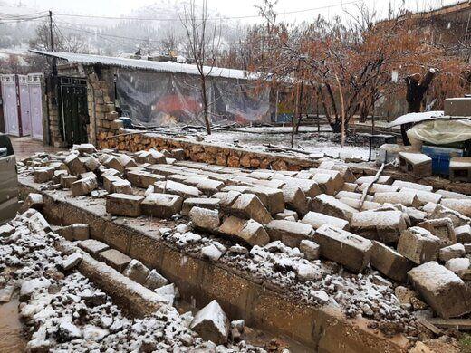اعزام نماینده ویژه رئیس سازمان بهزیستی کشور به منطقه زلزله زده سیسخت