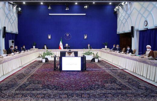 جلسه مشترک روحانی، قالیباف و رئیسی